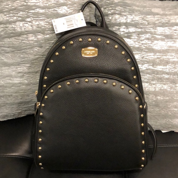 179d62957f25 Michael Kors Black Abbey Backpack